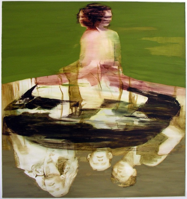 Concurrents III/Samtidigheter III, oil on panel, 130x122 cm 2005